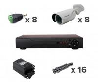 AHD-Master 8 №2 1 Мп комплект видеонаблюдения AHD формата